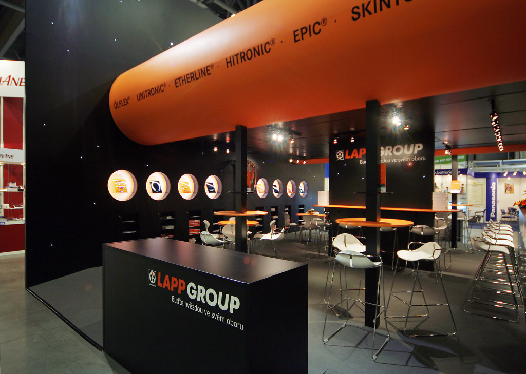 expozice LAPP GROUP - Brno