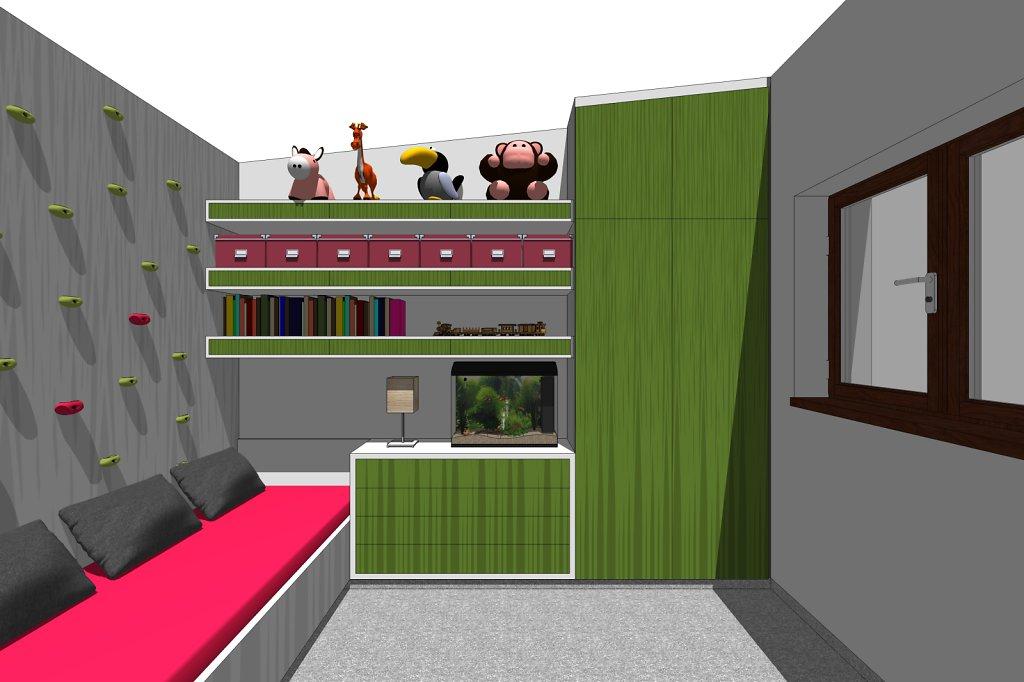 dětské pokoje - Zeleneč