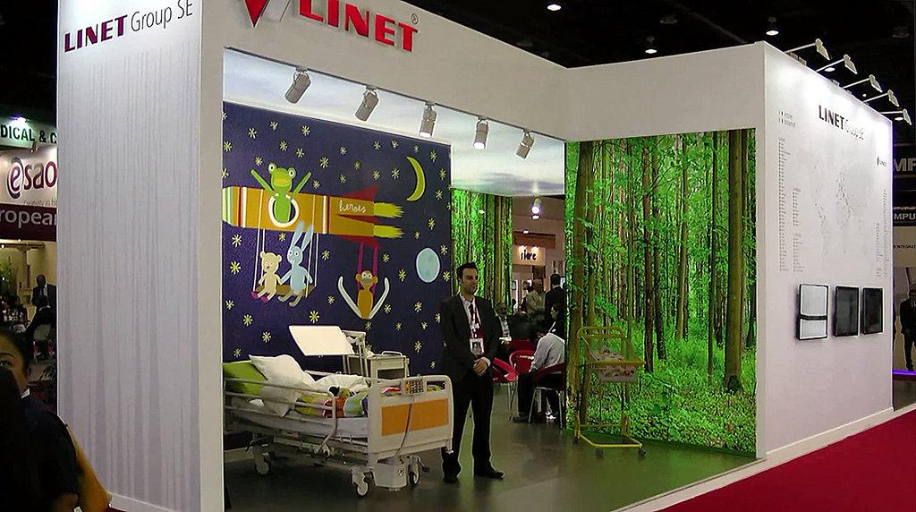 expozice Linet - Dubai
